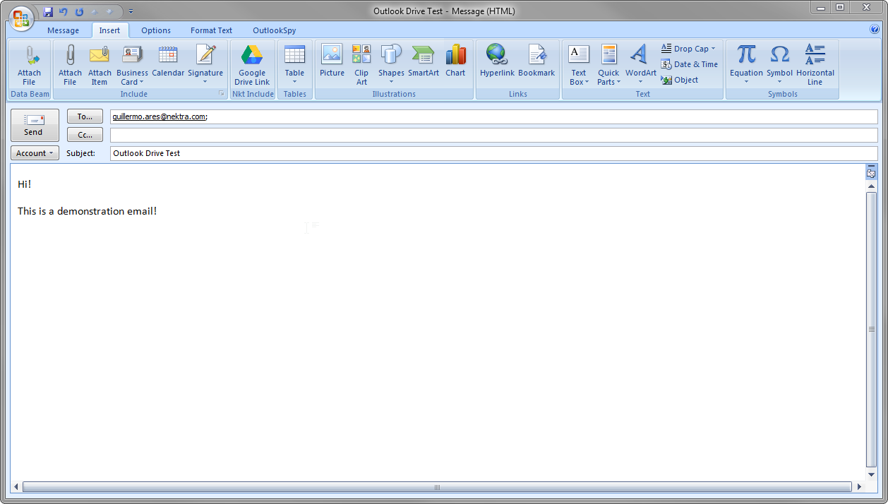 Outlook nektra advanced computing blog for How to open an outlook template
