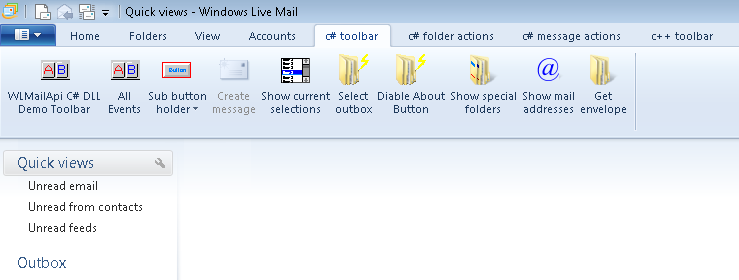 New Windows Live Mail 2011 Toolbar WLMAILAPI small